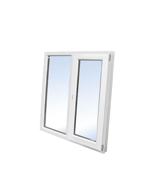 Окно пластиковое VEKA WHS Halo 1160х1200 мм 2 створки левая глухая правая поворотно-откидная окно деревянное 1000х1000 мм 2 створки