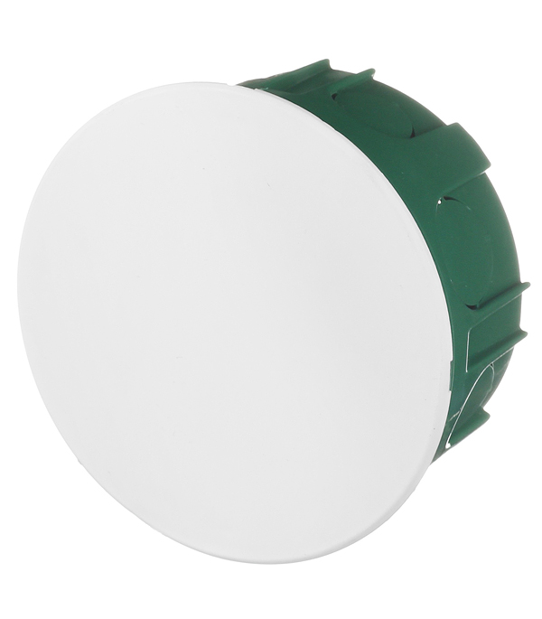 Коробка в бетон Schneider Electric с/у разветвительная круглая с крышкой d100 мм h50 мм