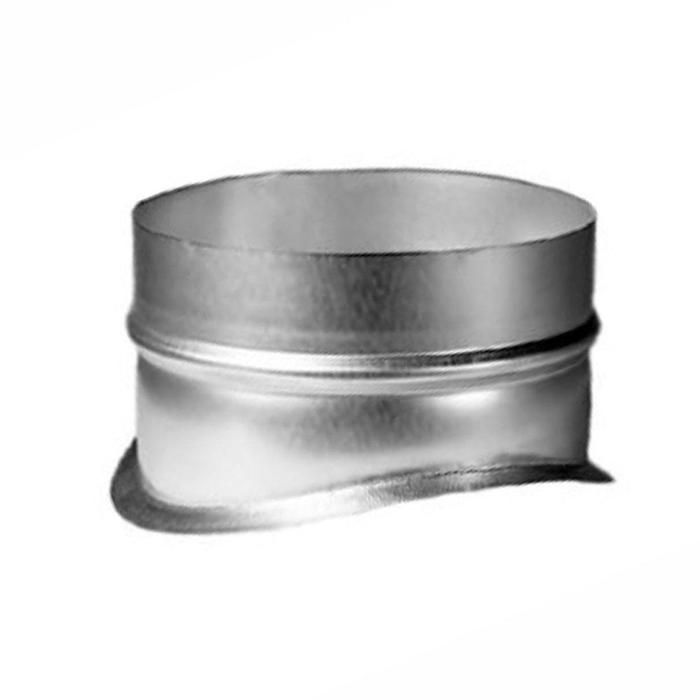 Врезка для круглых воздуховодов d315х250 мм оцинкованная фото