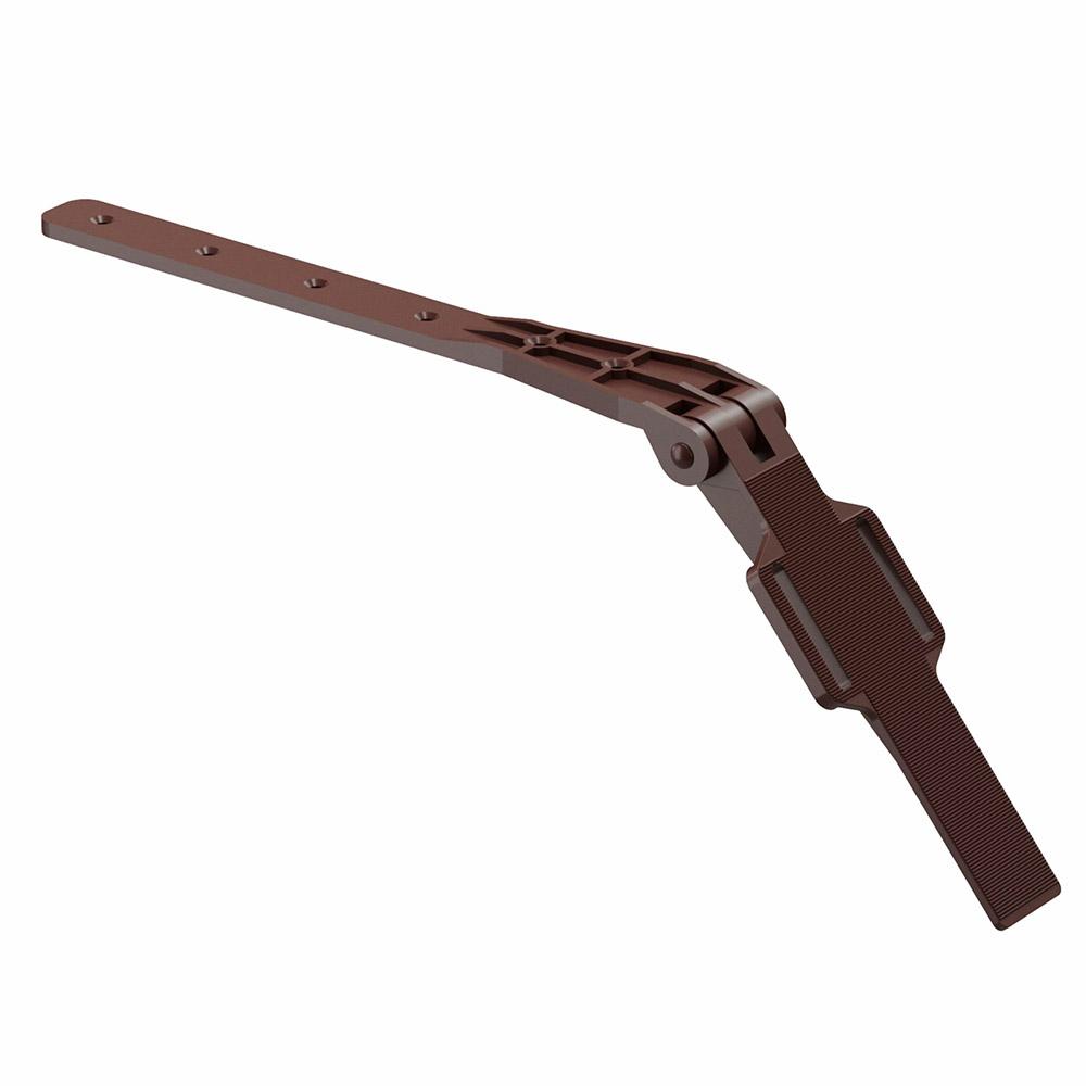 цена на Крепление для кронштейна Docke Premium коричневый RAL 8017 регулируемое