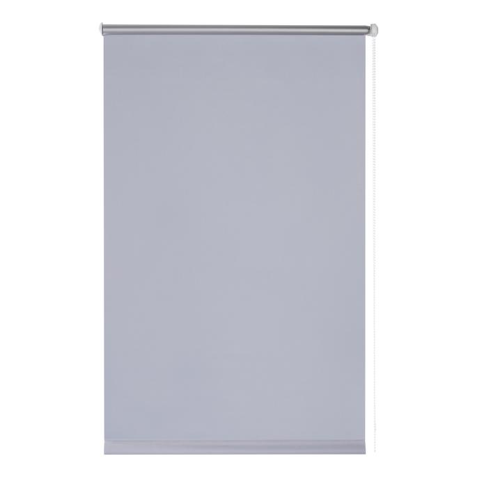 Штора рулонная 60х170 см серый отражающий Blackout