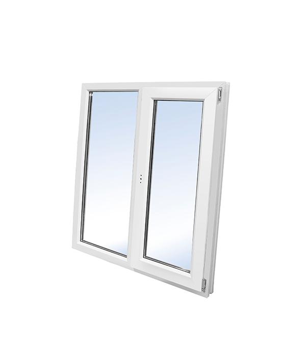 Окно пластиковое VEKA WHS Halo 1160х1000 мм 2 створки левая глухая правая поворотно-откидная окно деревянное 1000х1000 мм 2 створки