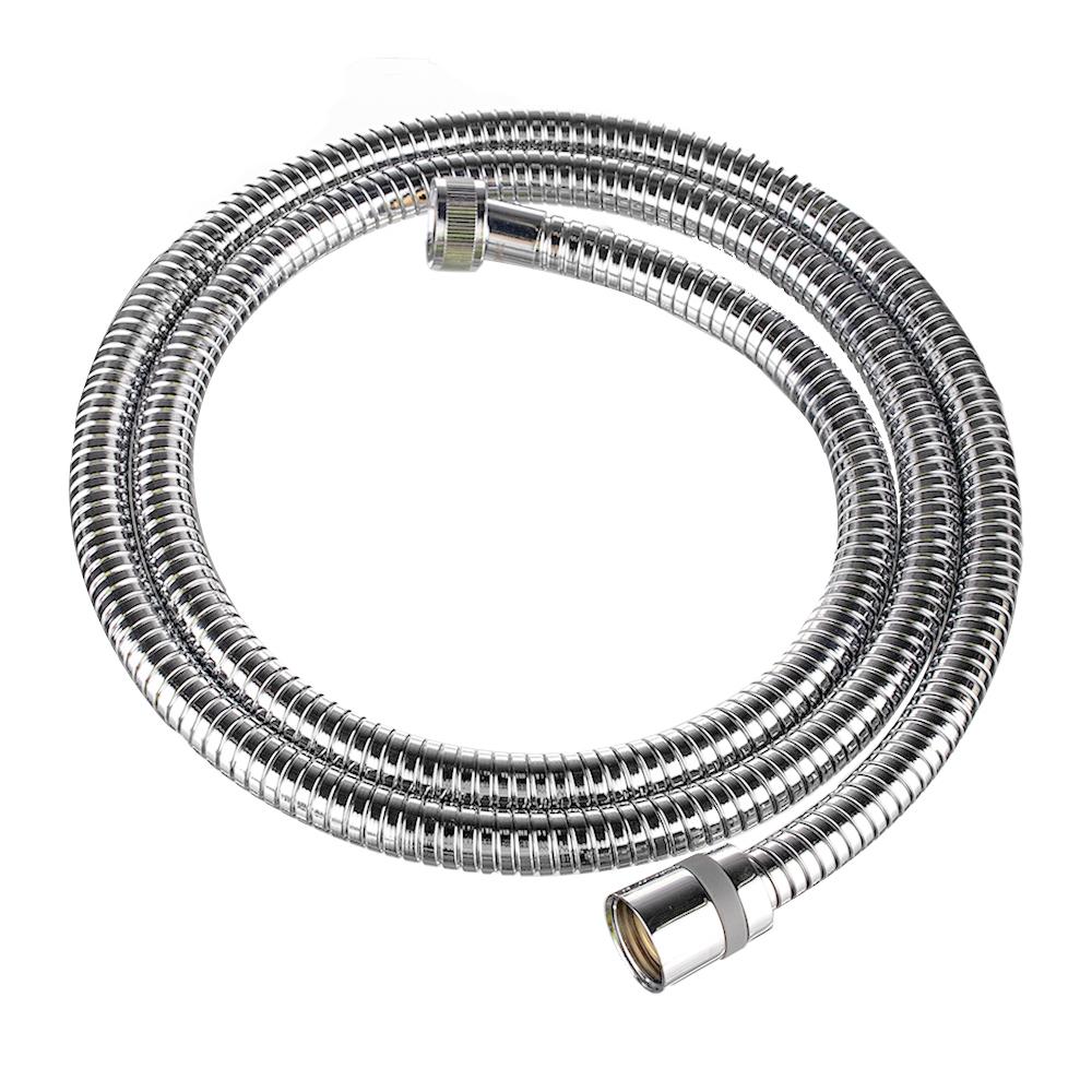 Шланг для душа LEMARK LE8032S растяжной 1500 мм-2000 мм хромированная сталь шланг для душа olive s растяжной 1 6 2 м