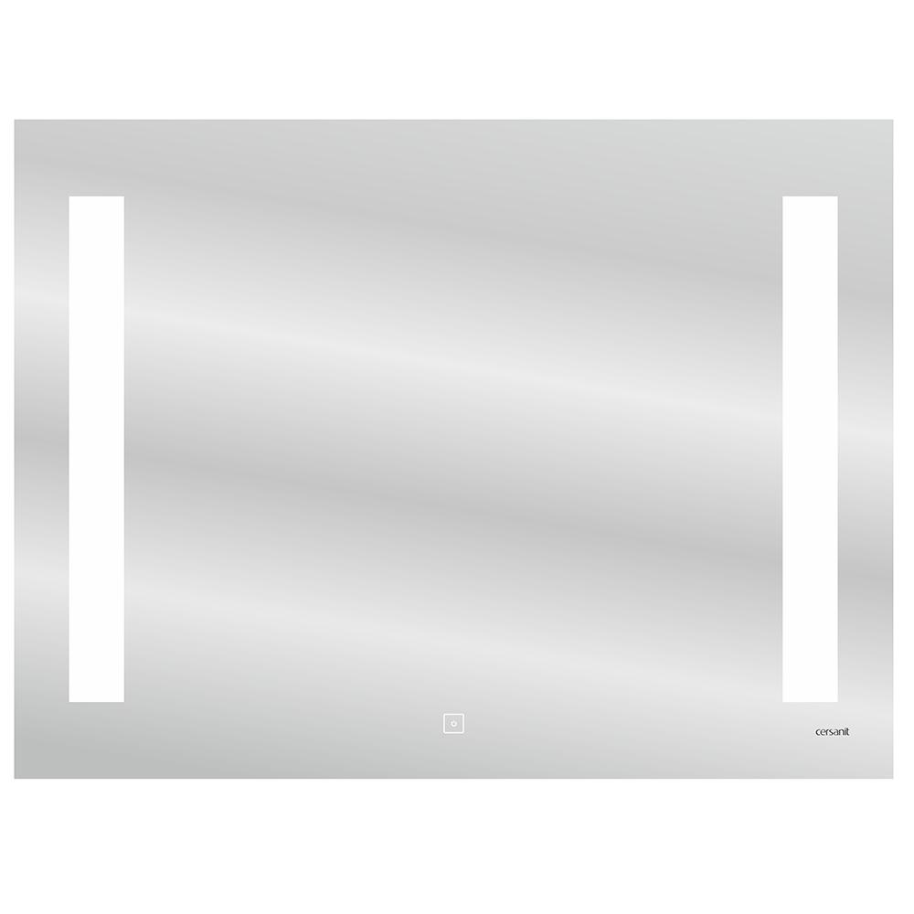 цена Зеркало CERSANIT Base 800х600 мм с подсветкой онлайн в 2017 году