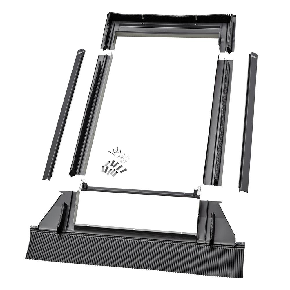 Оклад для профилированных покрытий Velux Premium EDW MK08 2000 780х1400 мм оклад комби для гибкой черепицы velux premium esk mr08 0007e 780х1400 мм