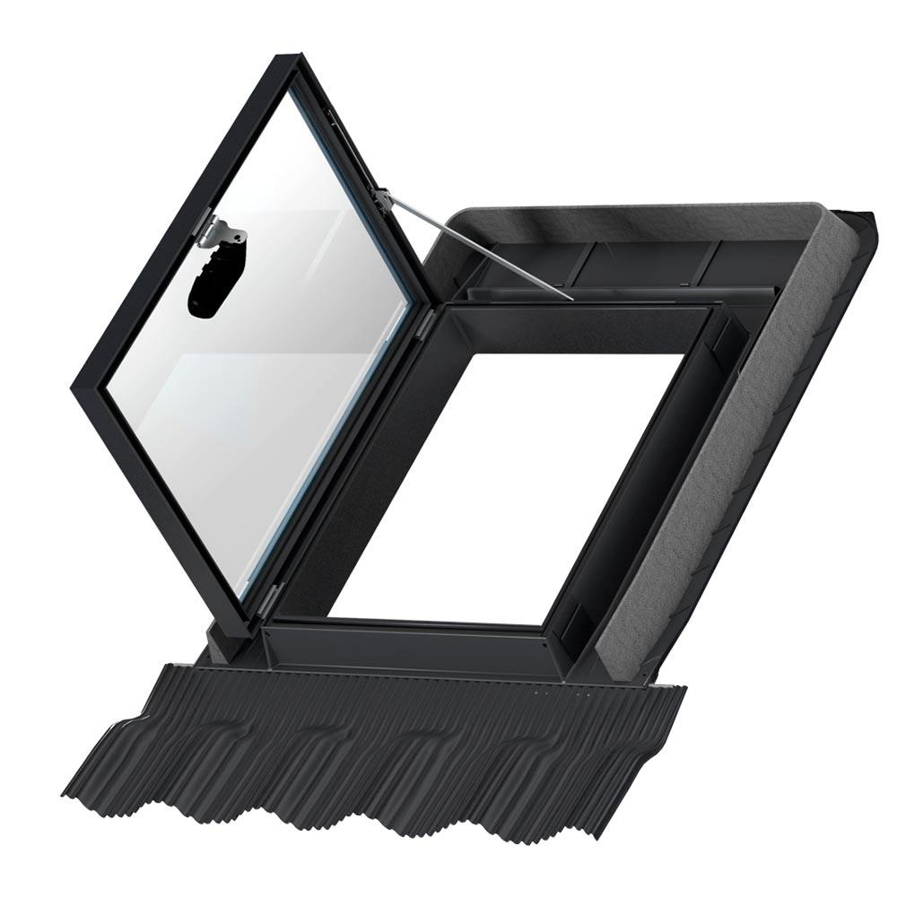 Окно-люк для выхода на крышу Velux GVT 103 0059Z 540х830 мм для неотапливаемых помещений