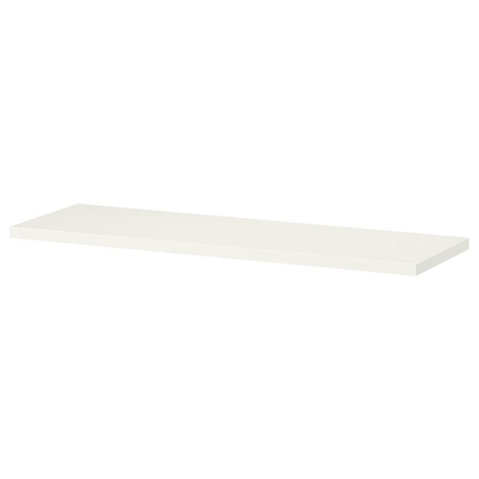 Щит мебельный ЛДСП 2400х400х16 мм белый