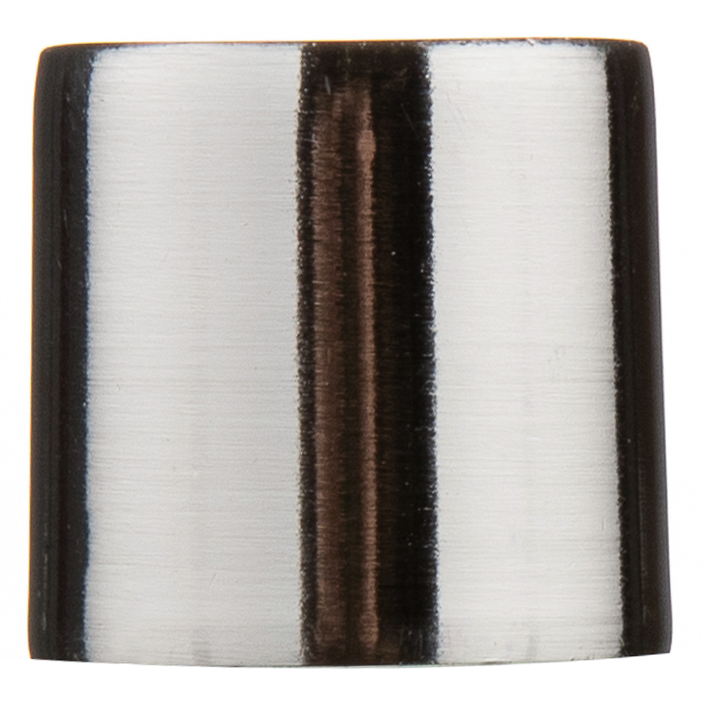 Наконечник Цилиндр d 16 мм серебро 2 шт. цены онлайн