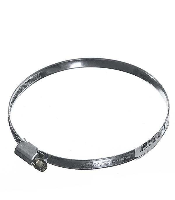 Хомут для монтажа гибких воздуховодов d110-130 мм врезка оцинкованная для круглых стальных воздуховодов d125х100 мм