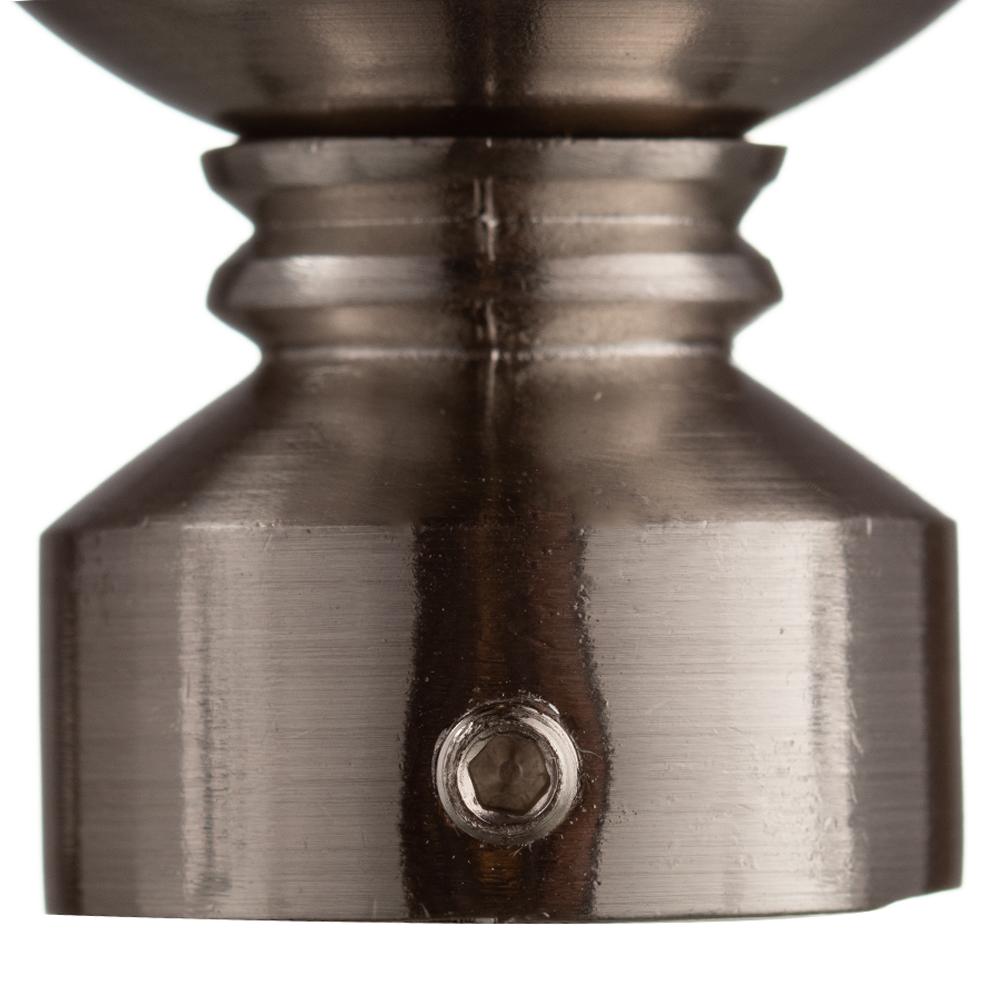 Наконечник Шар d 16 мм серебро 2 шт. фото