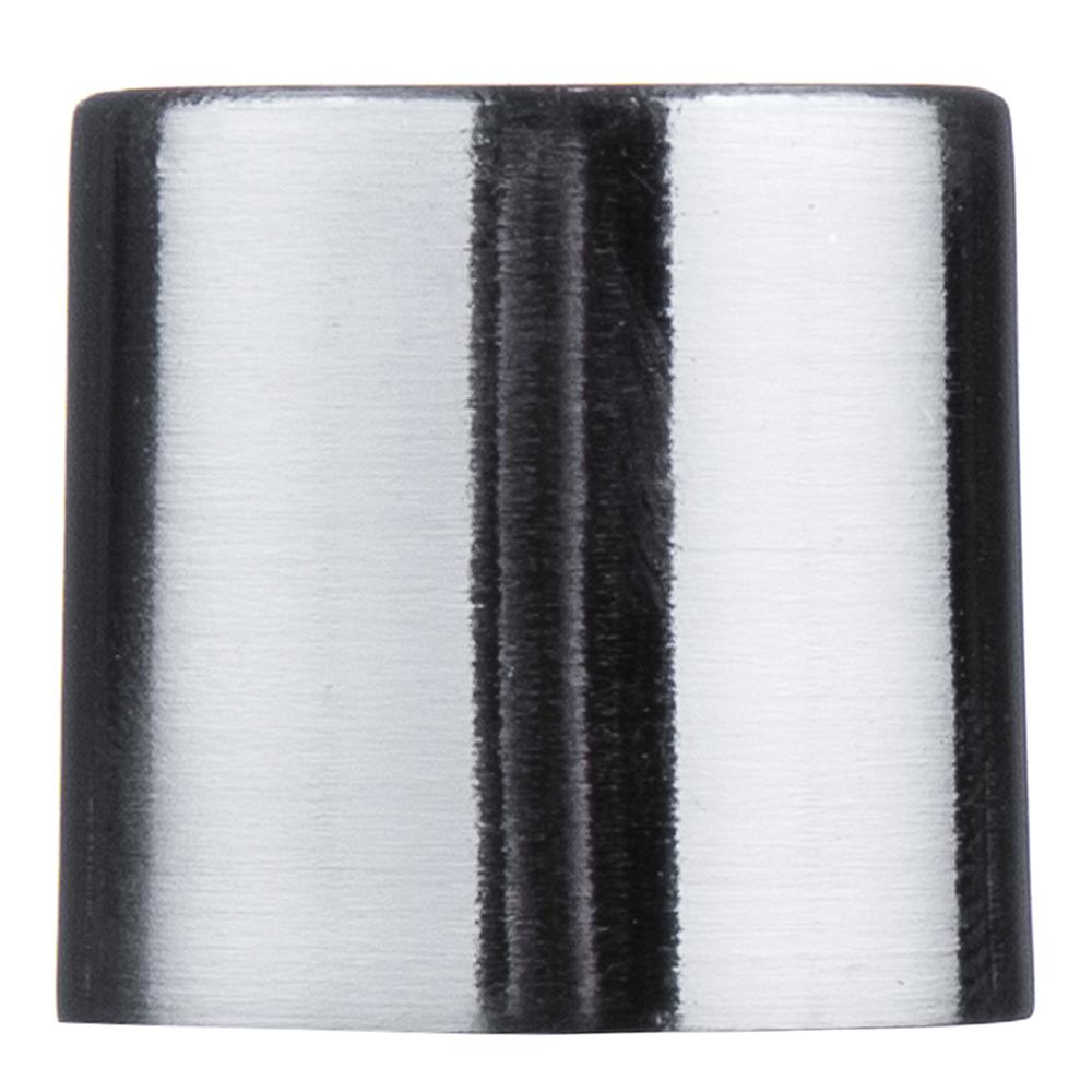 Наконечник Цилиндр d 20 мм серебро 2 шт. цены онлайн