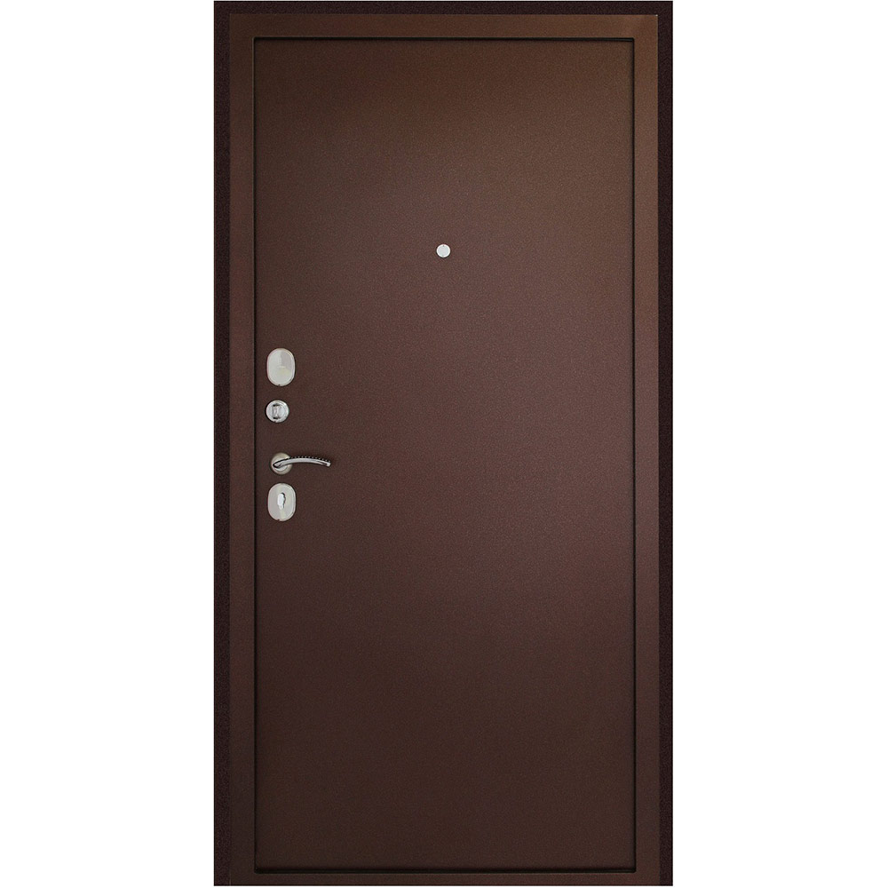 Дверь входная Дверной континент Иртыш 100 левая медный антик - медный антик 960х2050 мм
