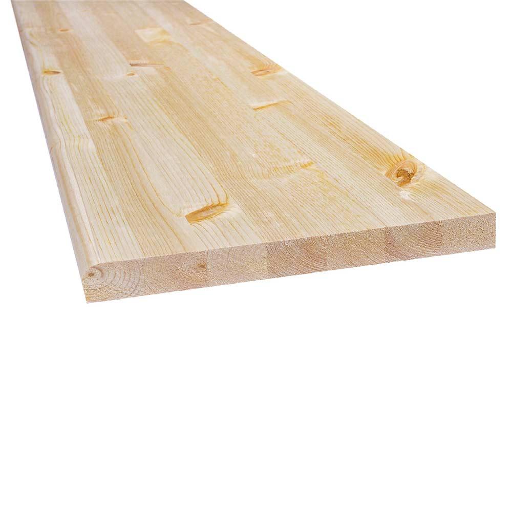 Подоконник деревянный 400х2000х28 мм хвоя