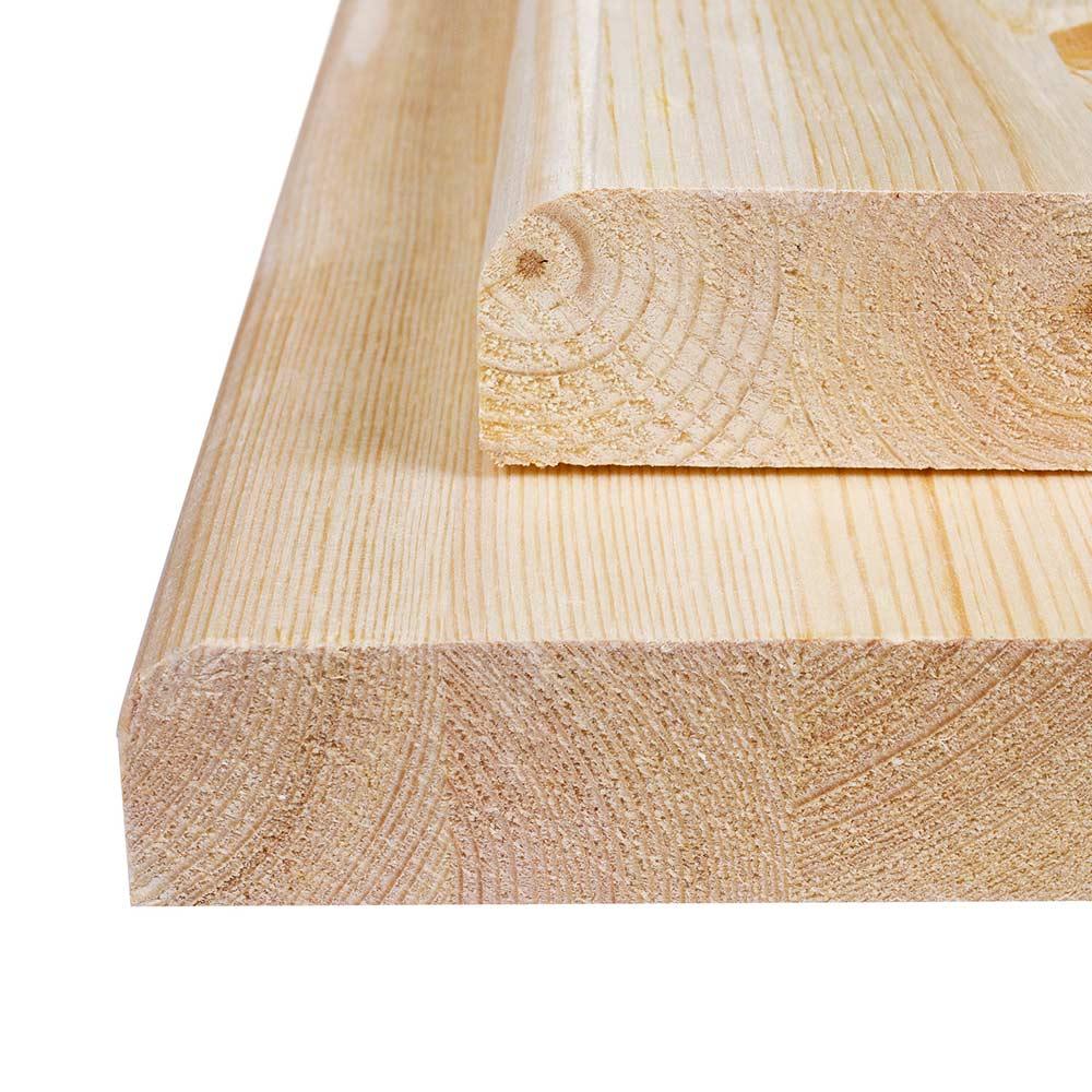 Подоконник деревянный 400х2000х40 мм хвоя