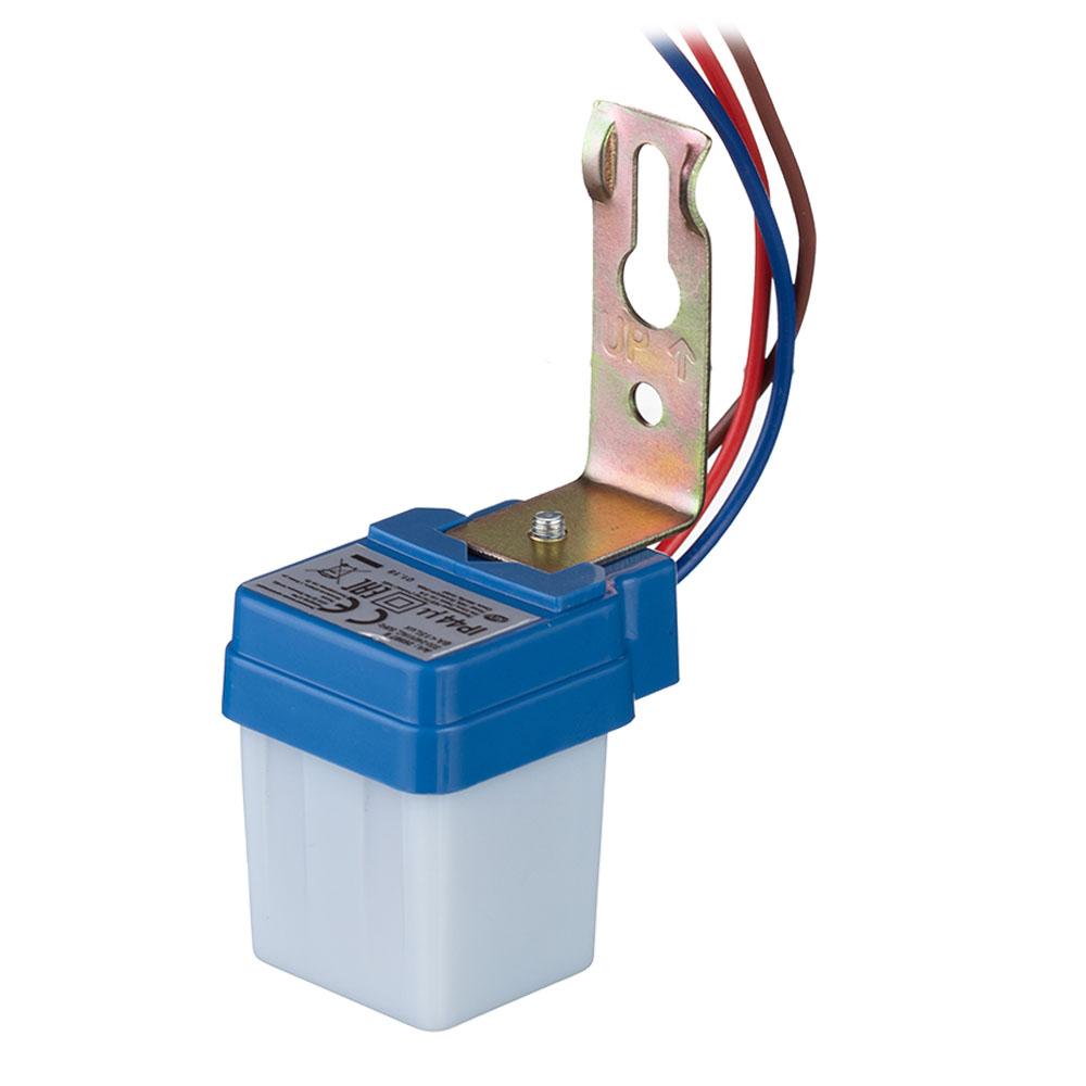 Фотореле REV FR01 1300 Вт IP44 фотореле фр 602 4400 вт пластик цвет серый ip44