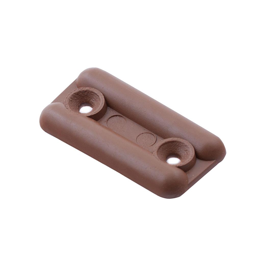 Подпятник пластиковый светло-коричневый (8 шт.)