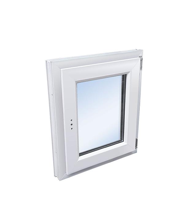 Окно пластиковое VEKA WHS Halo 600х500 мм 1 створка поворотная правая