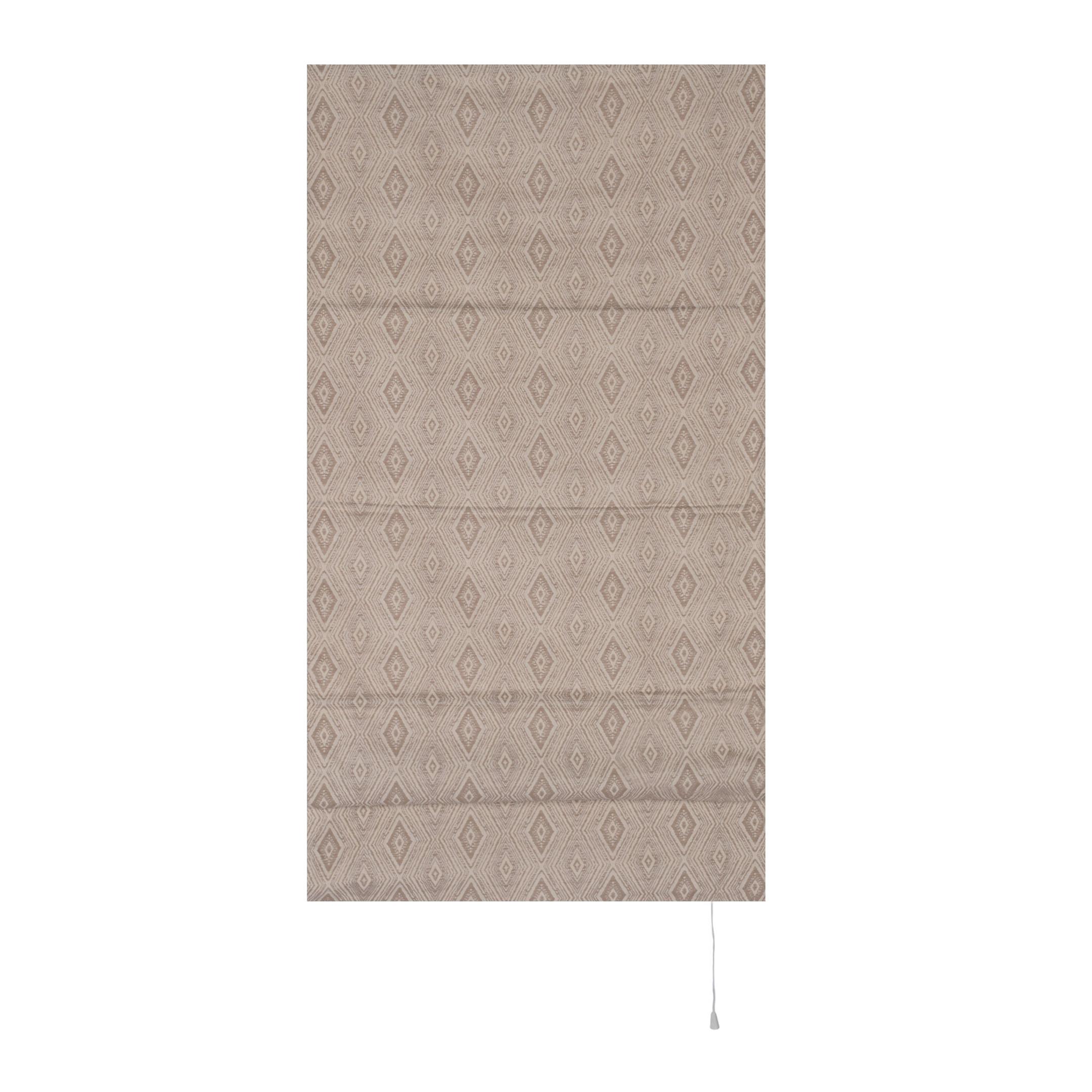 Штора римская Сафари 60х160 см бежевый штора римская сафари 60х160 см бежевый