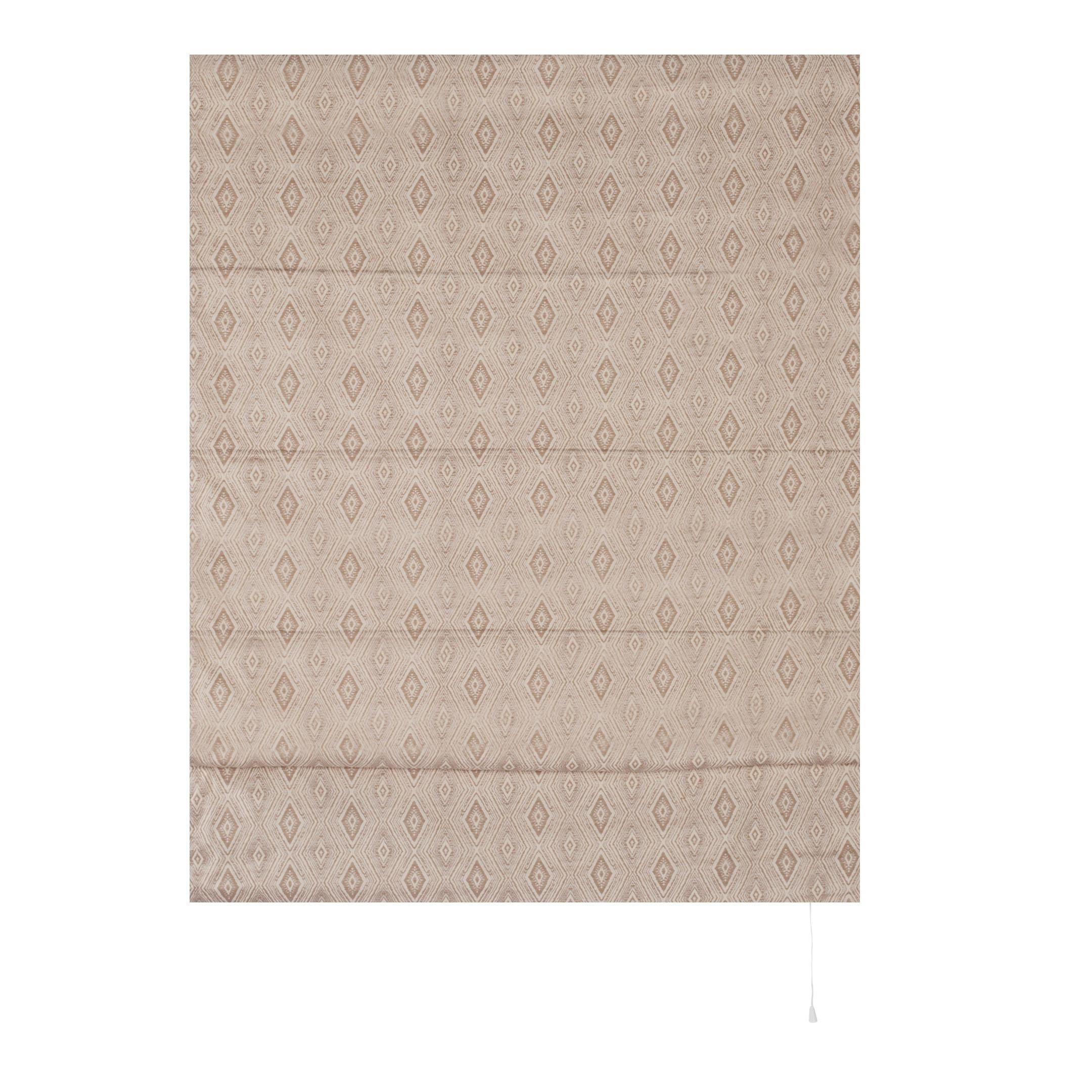 Штора римская Сафари 100х160 см бежевый штора римская сафари 60х160 см бежевый