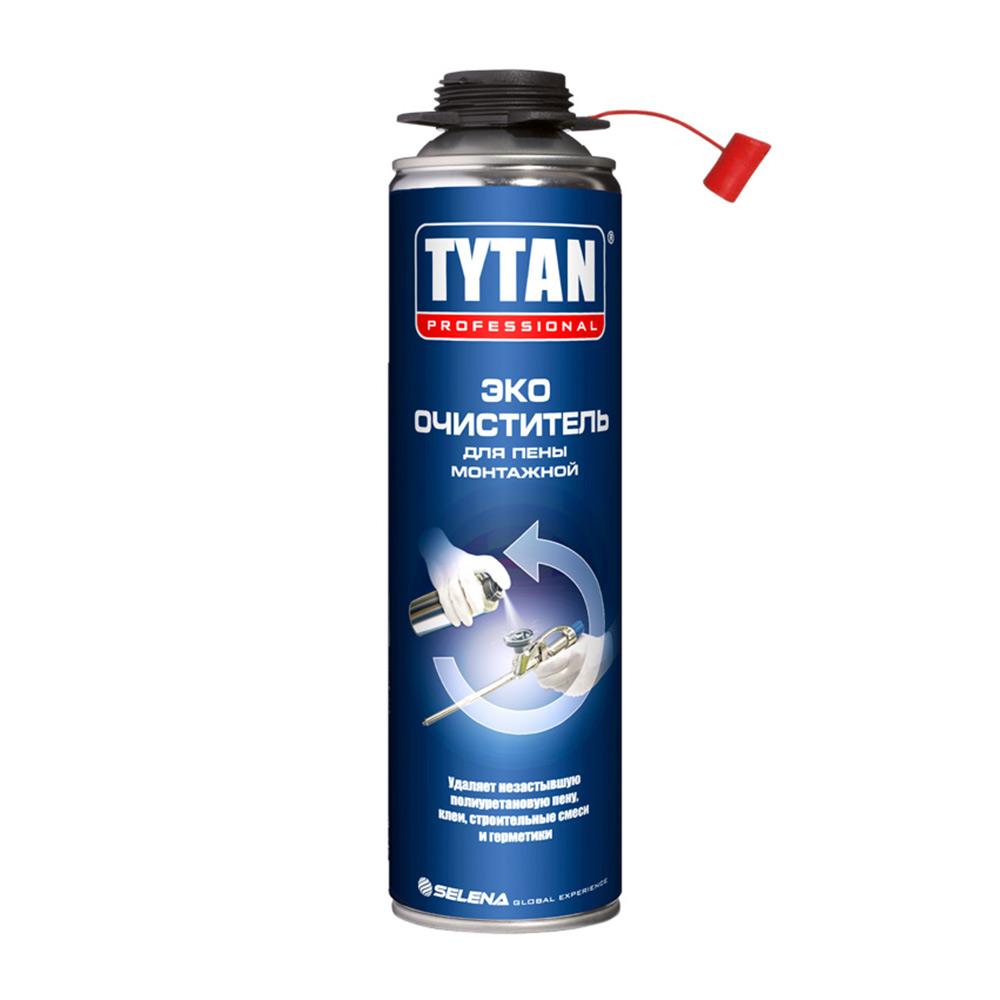 Очиститель пены монтажной Tytan Professional ЭКО 500 мл