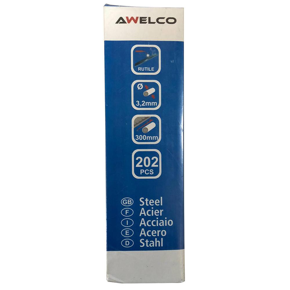 Электроды Awelco (90755RP) AWS E6013 d3,2 мм (202 шт.) 5 кг