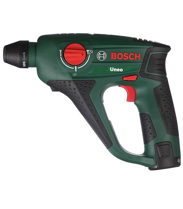 Перфоратор аккумуляторный Bosch Uneo 12 12 В 0.5 Дж Li-ion SDS-quick bosch uneo 10 8 li 2 перфоратор без аккумулятора и зу 0603984022