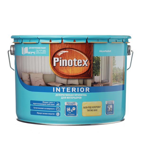 Купить Пинотекс Interior декоративное средство 9 л, Pinotex, Бесцветный