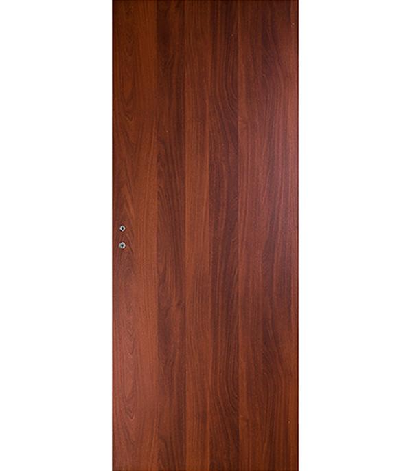 Дверное полотно ламинированное Верда Итальянский орех 7М 600х2000 мм глухое без притвора цена