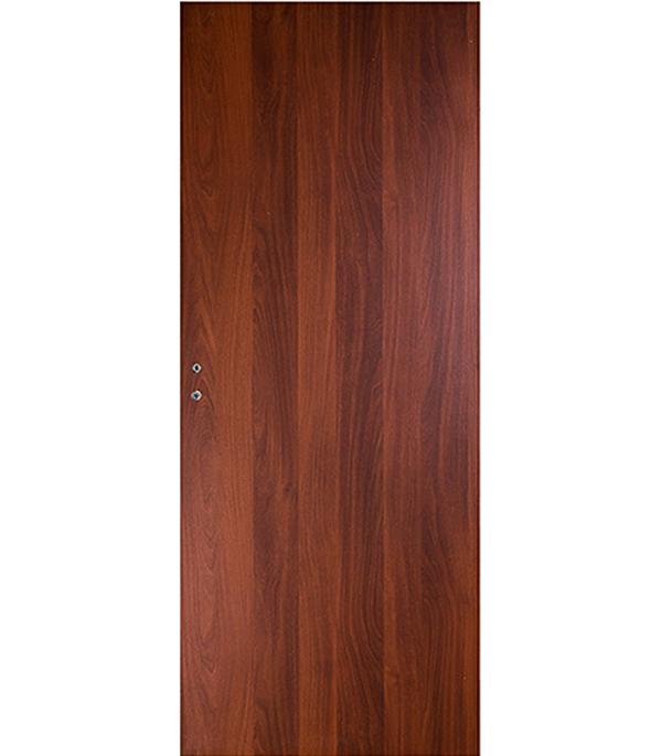Дверное полотно ламинированное Верда Итальянский орех 9М 800х2000 мм глухое без притвора