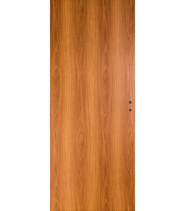 Дверное полотно ламинированное Верда Миланский орех 7М 600х2000 мм глухое без притвора цена