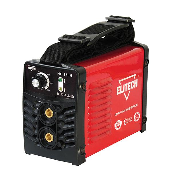 Сварочный аппарат инверторного типа Elitech ИС 180Н сварочный аппарат baumaster aw 79161