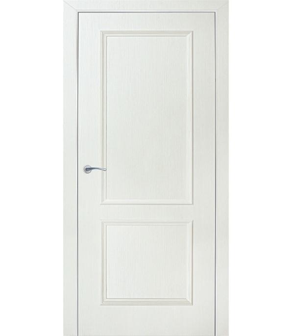 Дверное полотно ламинированное Altro декоративный бьянко 3D 2000х900 мм глухое без притвора сотовый