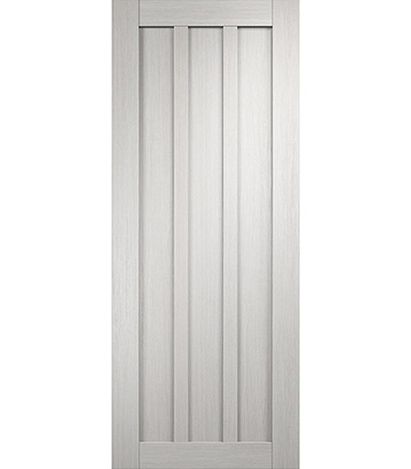 Дверное полотно экошпон Интери 3-0 белый дуб 700х2000 мм глухое без притвора