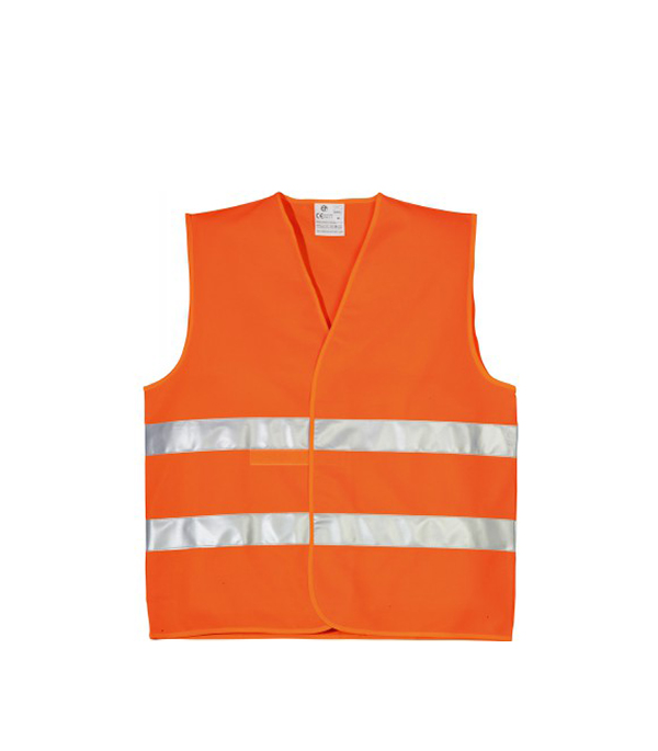 Купить Жилет сигнальный светоотражающий оранжевый, Оранжевый