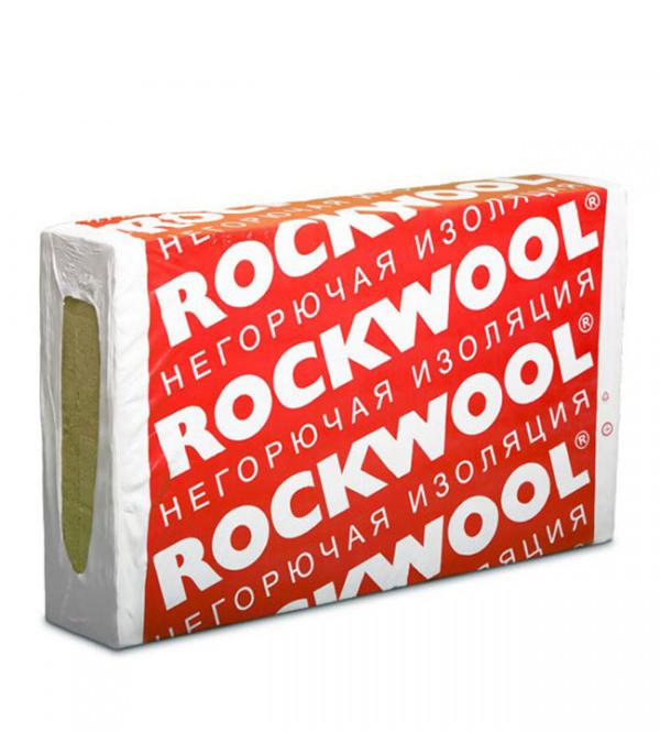 Звукоизоляция ROCKWOOL Флор Баттс 1000х600х50 мм 2.4 кв.м