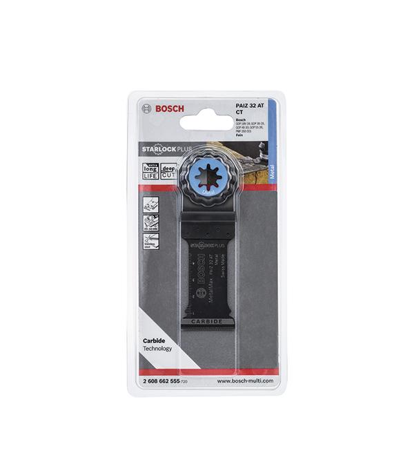 Пильное погружное полотно по металлу Bosch Starlock Plus 32 мм для МФУ пильное полотно для мфу по металлу 10 мм kwb стандарт