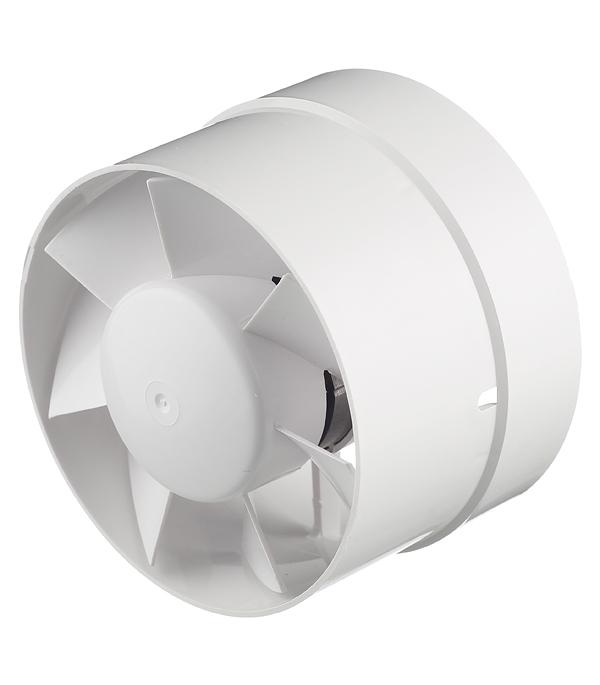 Вентилятор канальный осевой d125 мм Вентс 125ВКО белый канальный вентилятор вентс тт про d125 мм