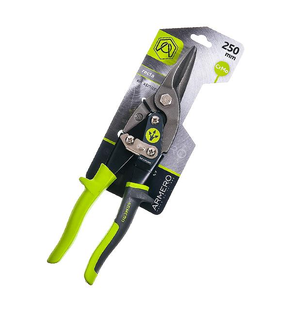 Ножницы по металлу Armero 250 мм прямые ножницы по металлу nws 250 мм прямые
