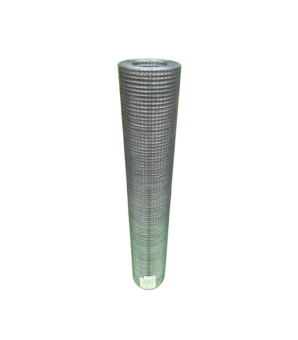 Сетка штукатурная сварная оцинкованная ячейка 10х10 мм d0,6 мм (рулон 1х15 м) сетка штукатурная тканая ячейка 8х8 мм d0 4 0 5 мм рулон 1х30 м