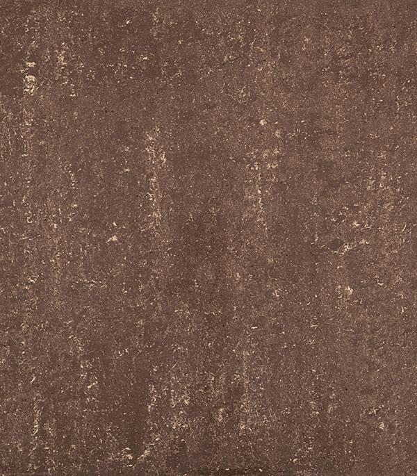 Керамогранит 600х600х10 мм коричневый Travertino полированный /Грасаро (4 шт= 1,44 кв.м) керамогранит декор 76х600х10 мм бежевый travertino плинтус грасаро