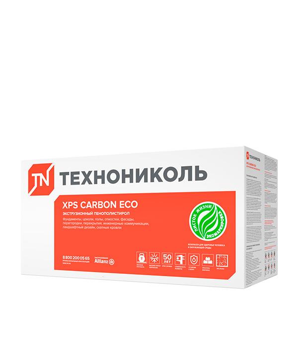 Экструдированный пенополистирол Технониколь Carbon Eco Г4 1180х580х40 мм