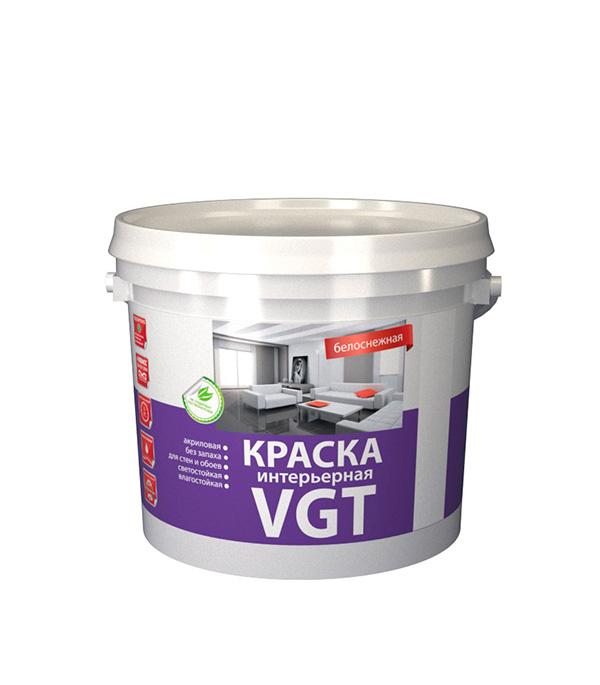 Краска в/д VGT  влагостойкая белоснежная 25 кг
