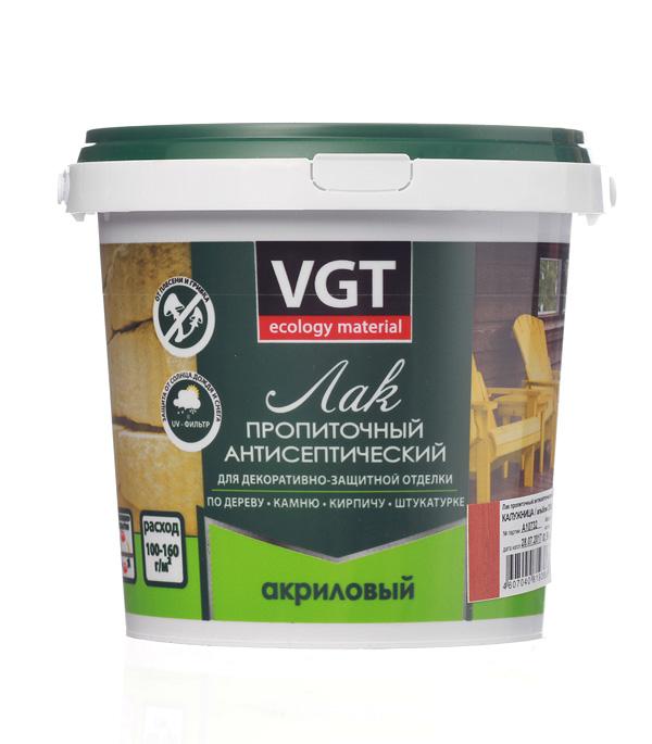 Лак антисептик акриловый VGT калужница 0,9 кг