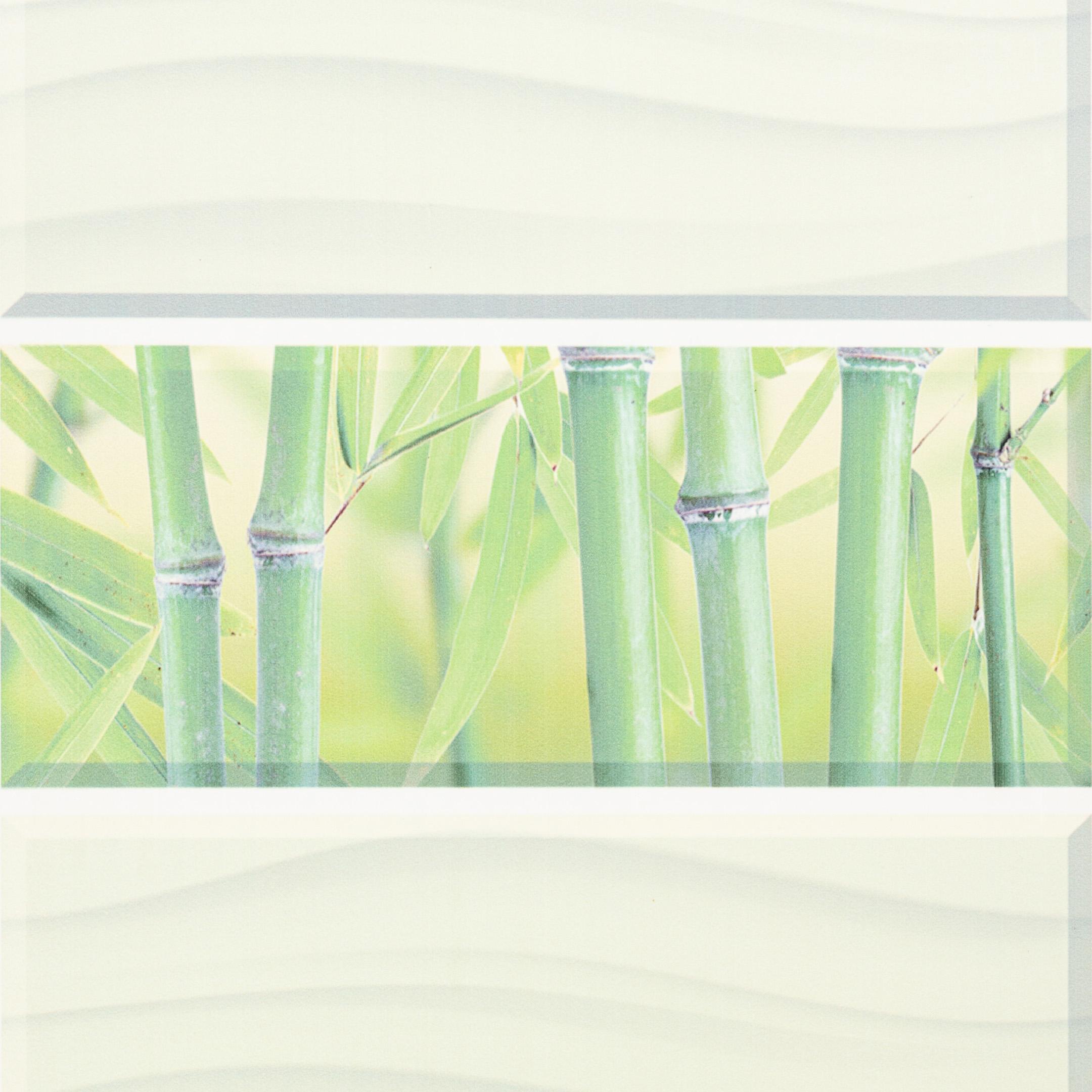 Панель ПВХ 250х2700х8 мм Центурион Blossom бамбук фон.