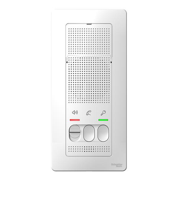 Переговорное устройство (домофон) о/у Schneider Electric Blanca белый устройство громкой связи parrot minikit neo 2 hd чёрный