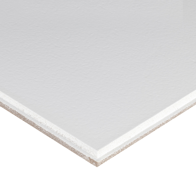 Плита к подвесному потолку 600x600x15 мм Plain Microlook 16 штук