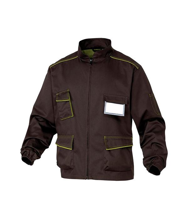Куртка рабочая Delta Plus Panostyle 48-50 рост 164-172 см цвет коричневый/зеленый раствор sauflon delta plus 110ml