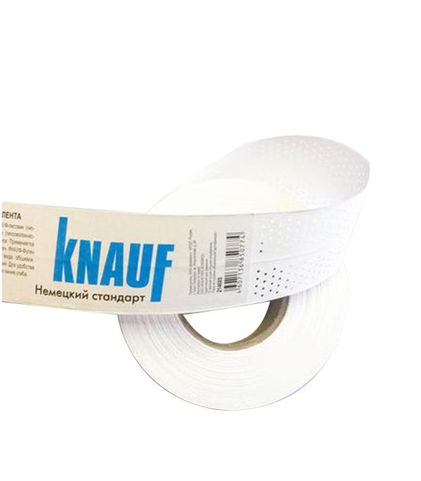 Лента бумажная Knauf для швов гипсокартона 52мм х 150 м ножовка для гипсокартона 150 мм fit it 15377