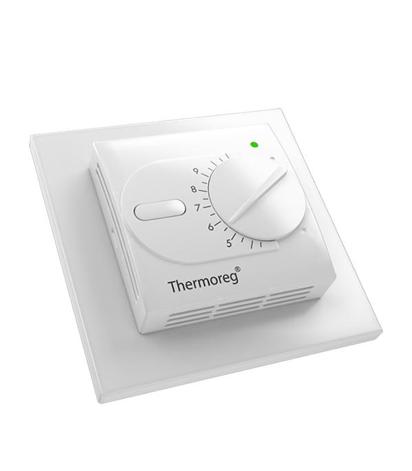 Терморегулятор механический Thermoreg TI-200dis терморегулятор программируемый для теплого пола thermoreg ti 950 design