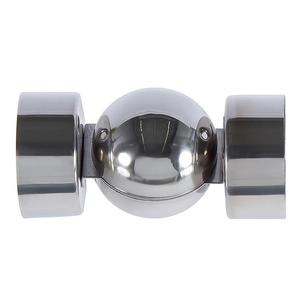Угловой шарнир на буковые перила 85х110х115 мм